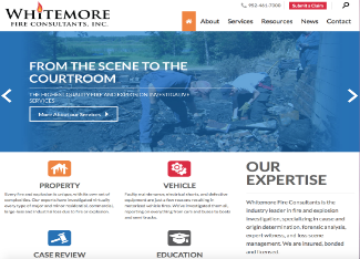 Whitemore Fire Consultants Website Copy