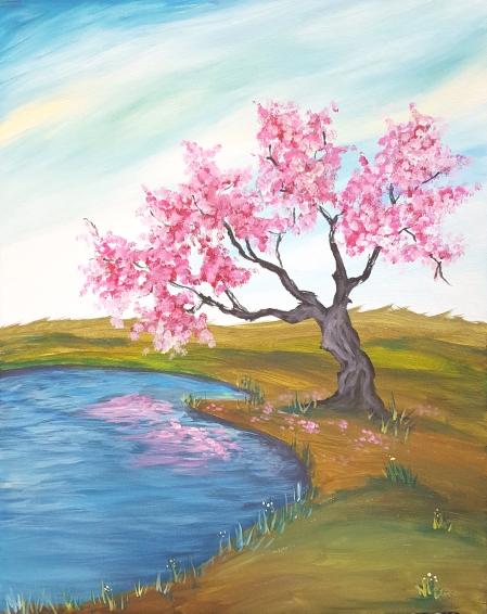 Blossom Reflections.jpg