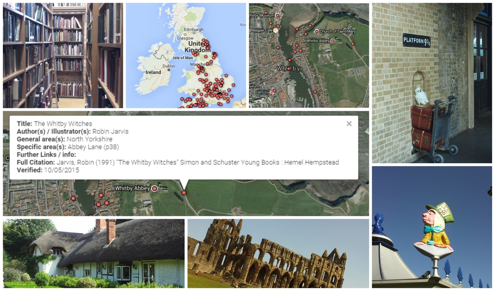 Visualising the Locations of Childrens Literature  Daisy Johnson
