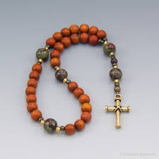 "CLICK ON IMAGE FOR YOUTUBE VIDEO ""MAKING YOUR OWN PRAYER BEADS"", SYLCIA MILLER-MUTIA."