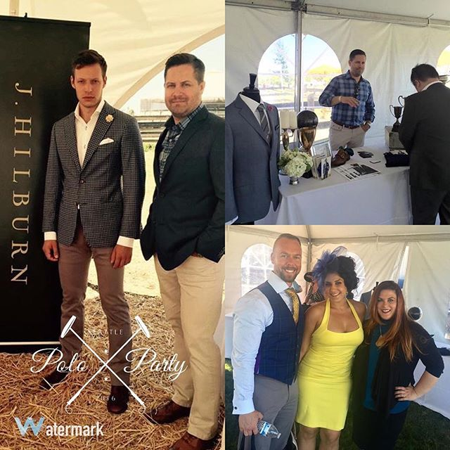 A few of the @jhilburnco fashions that were on hand at the #SeattlePoloParty this year courtesy of @karissameadorstylist. Make sure to check her out. #SeattlePoloParty #SeattlePolo #Fashion #jhilburn #mensfashion