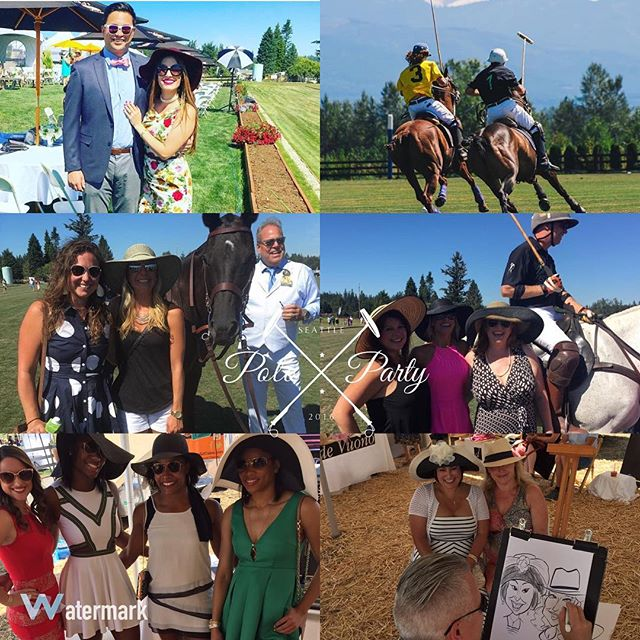 100's of great photos were taken yesterday capturing the true essence of #SeattlePoloParty. I found a few of these from spectators that used the #seattlePoloParty hashtag.  Post your photos & use our hashtag and we will share them!  #SeattlePoloParty #SeattlePolo