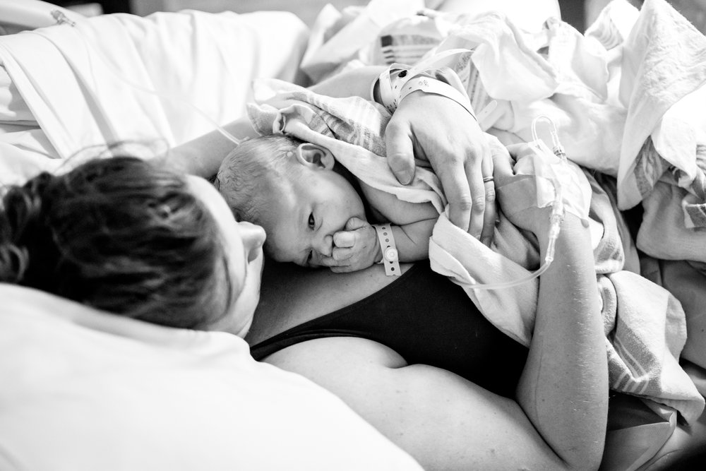 Postpartum - VBAC Photography