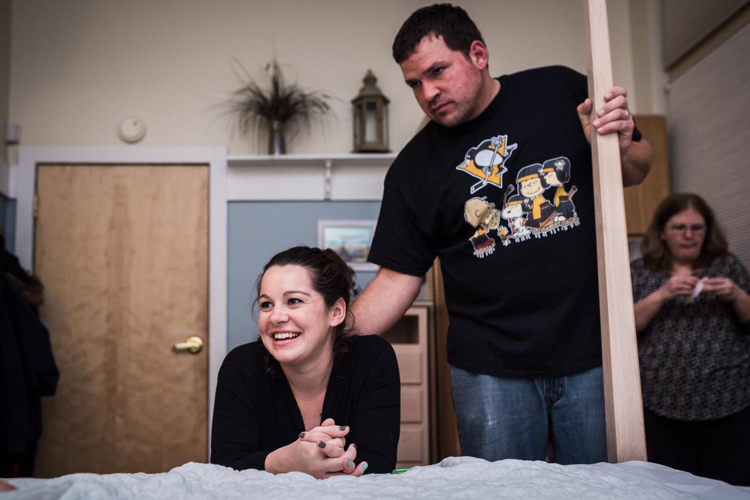 Happy in labor at pittsburgh birth center