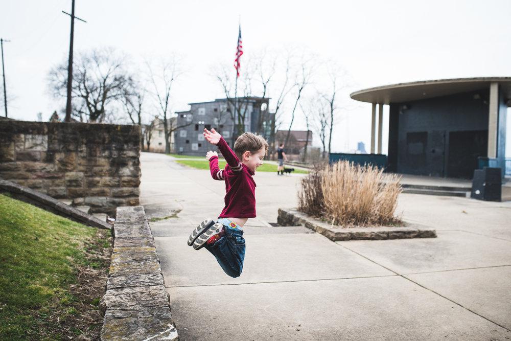 Grandview Park Jumping