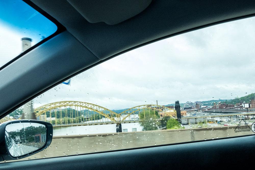 Piitsburgh bridges