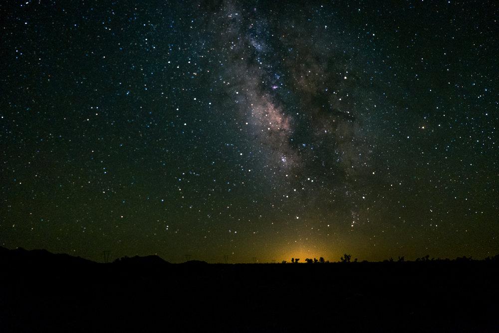 Stars in Nevada