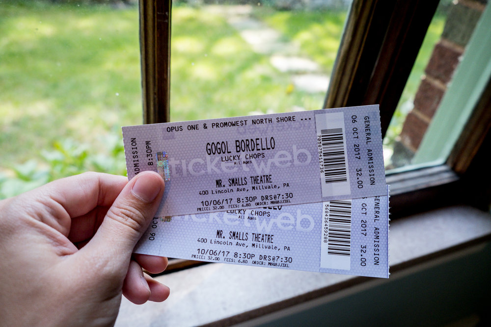 gogol bordello tickets