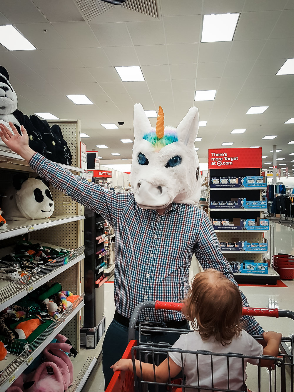 unicorn head halloween