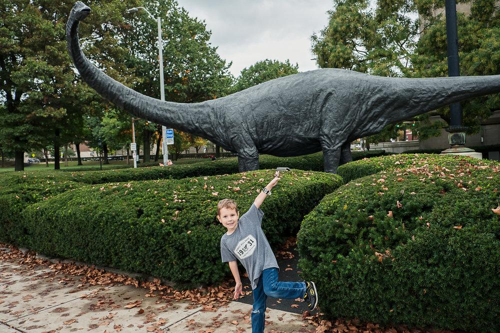 oakland dinosaur pittsburgh