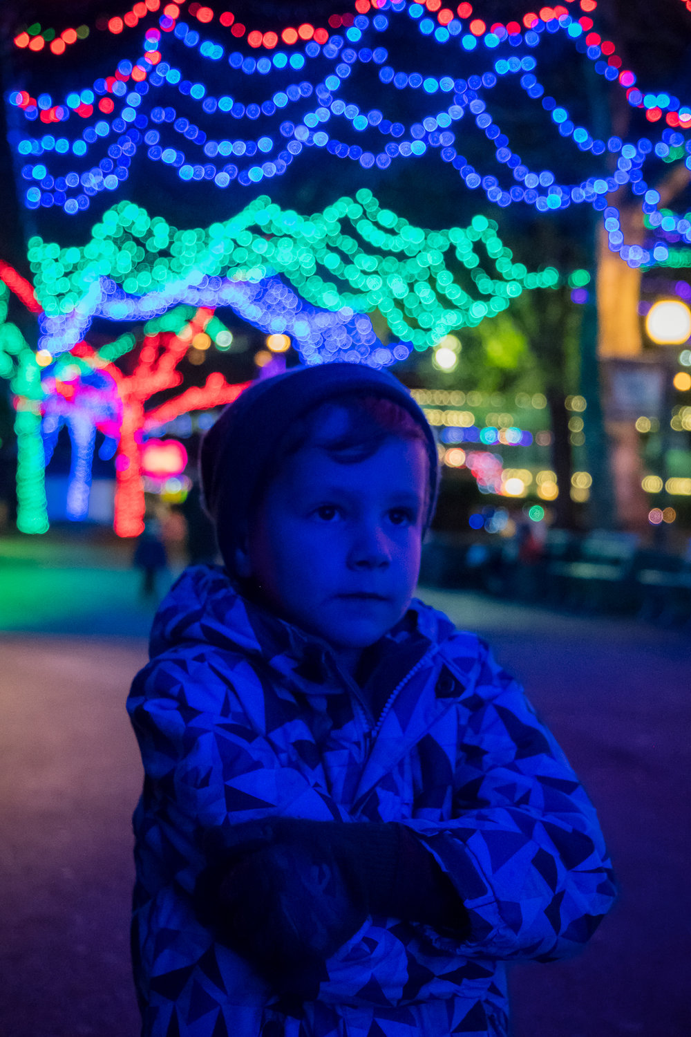 kennywood lights pittsburgh