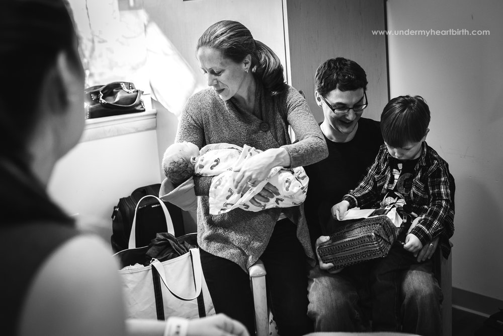 family after birth in pittsburgh