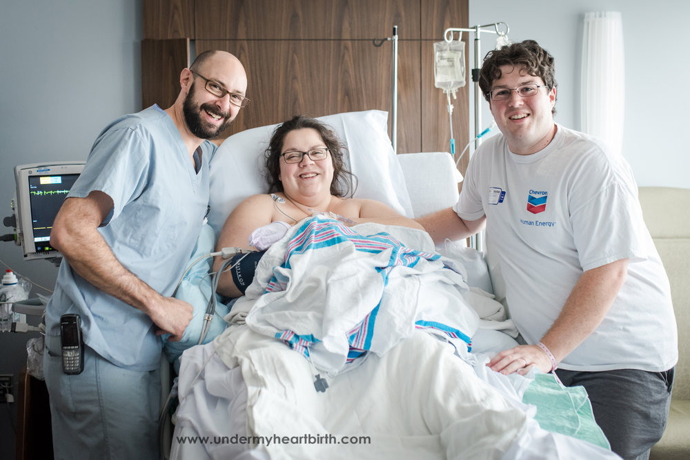 birth team at jefferson hospital