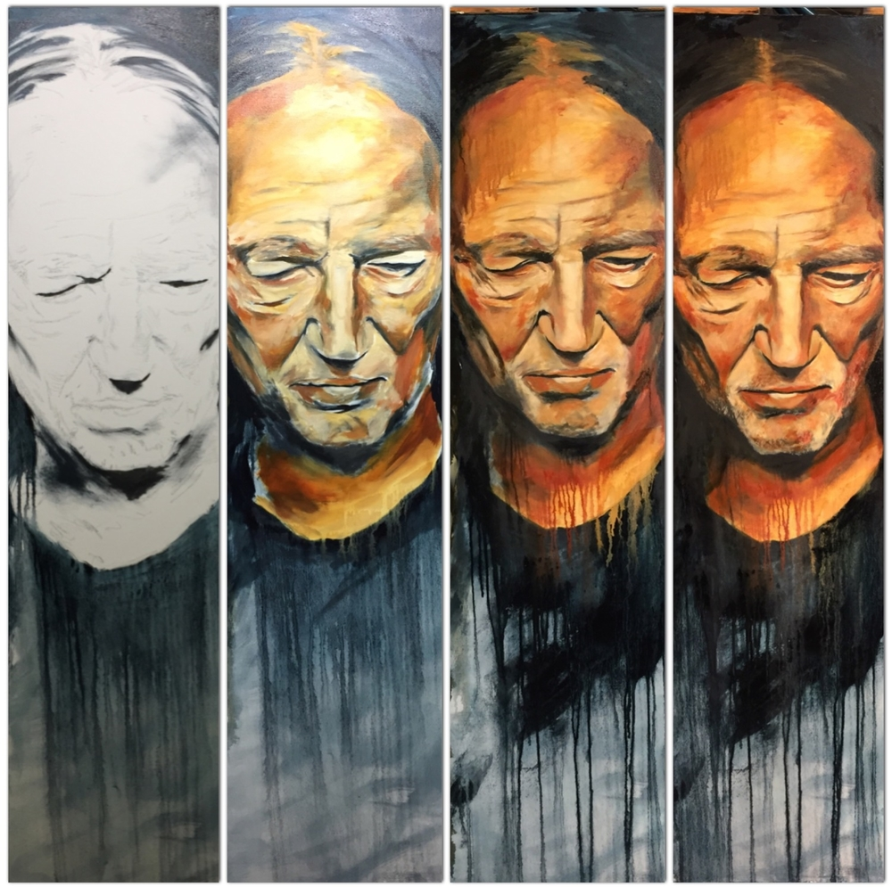 Willie Nelson No.4 Process