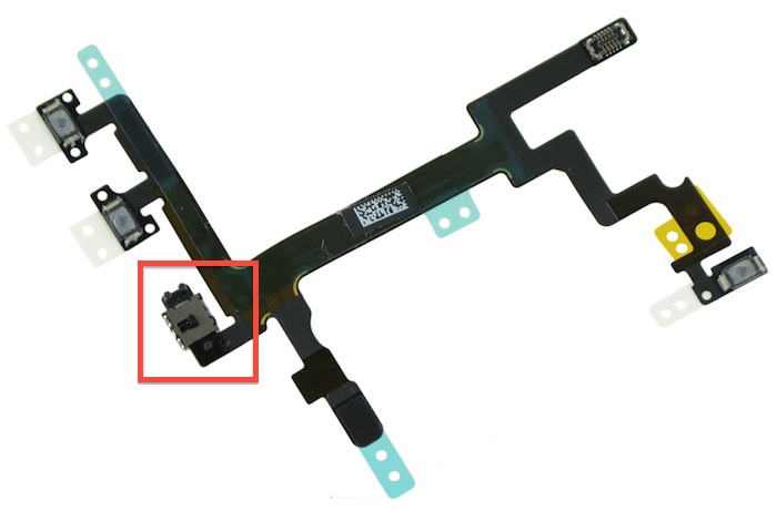 Alleged Parts for Upcoming iPhone Leak Again, Mute Switch to Become Push Button? - Geekanoids