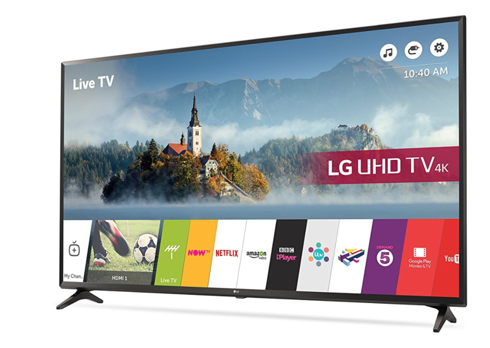 AMAZING DEAL! 25% OFF LG 49UJ630V 4K UHD HDR LED TV • UK