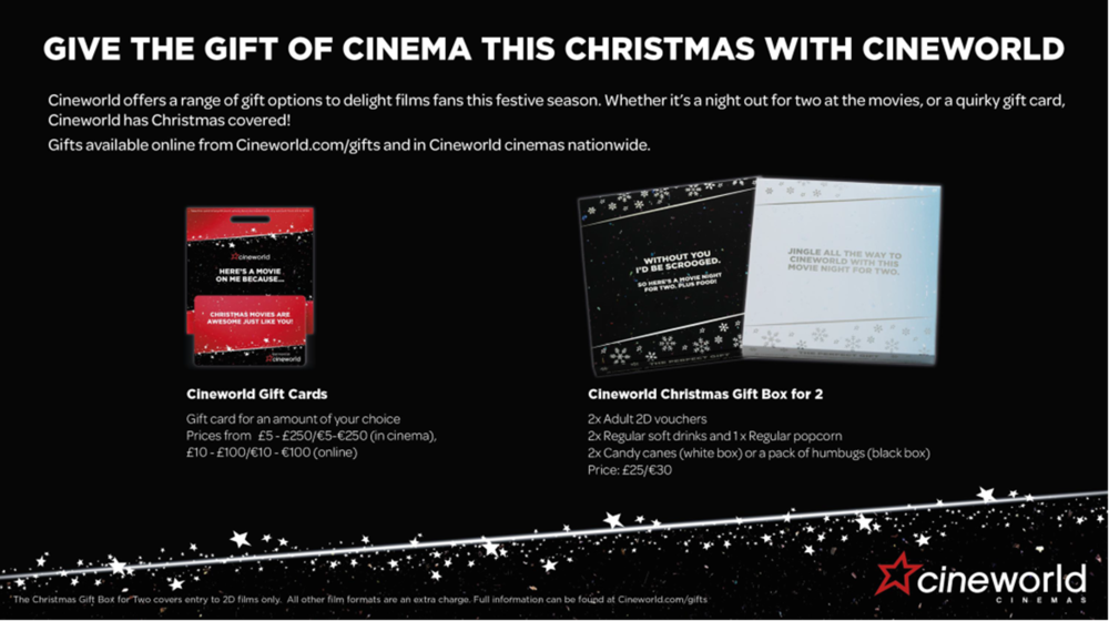 The Perfect Christmas Gift For Movie Lovers Geekanoids