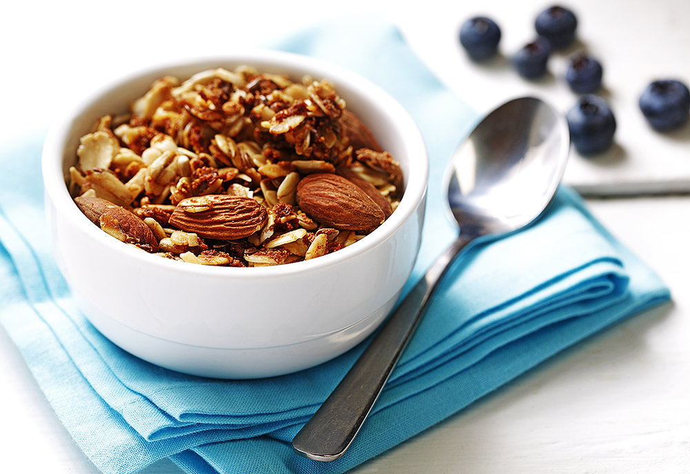Toasted Coconut Almond Granola.  Recipe courtesy of canolainfo.org
