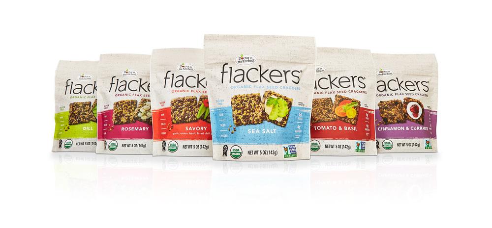 Frackers Organic Flax Seed Crackers
