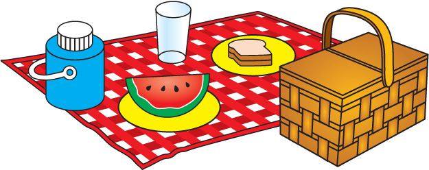 Image result for picnic lunch clipart