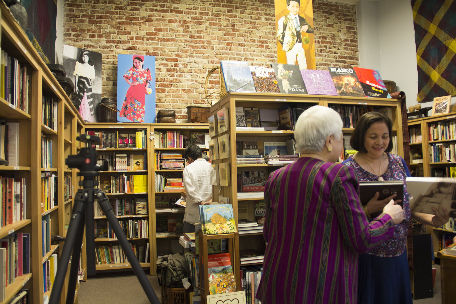 Pinay authors gather at Philippine Expressions Bookshop — FilAm ARTS