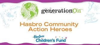 2012 - Hasbro Community Action Hero