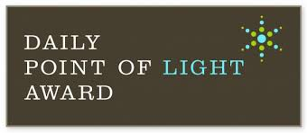 2011 - Daily Point of Light Award recipient #4549 (Click icon to see article)