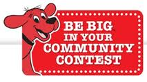 """2010 -Scholastic's """"Be BIG in Your Community"""" 1st Place Winner: $2,500 donated to TAFB"""
