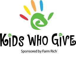 2011 - Kids Who Give 1st Place Winner -$1,000 donated to TAFB