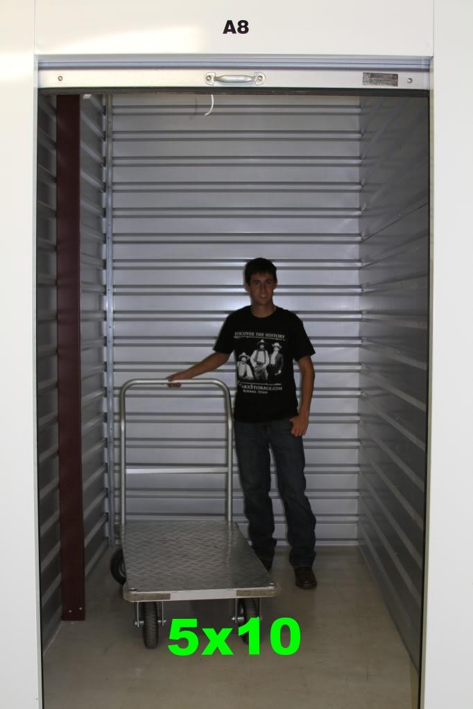 Size estimator ten oaks storage for 10 by 10 room in square feet