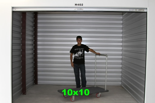 Ten Oaks Storage - Sizes