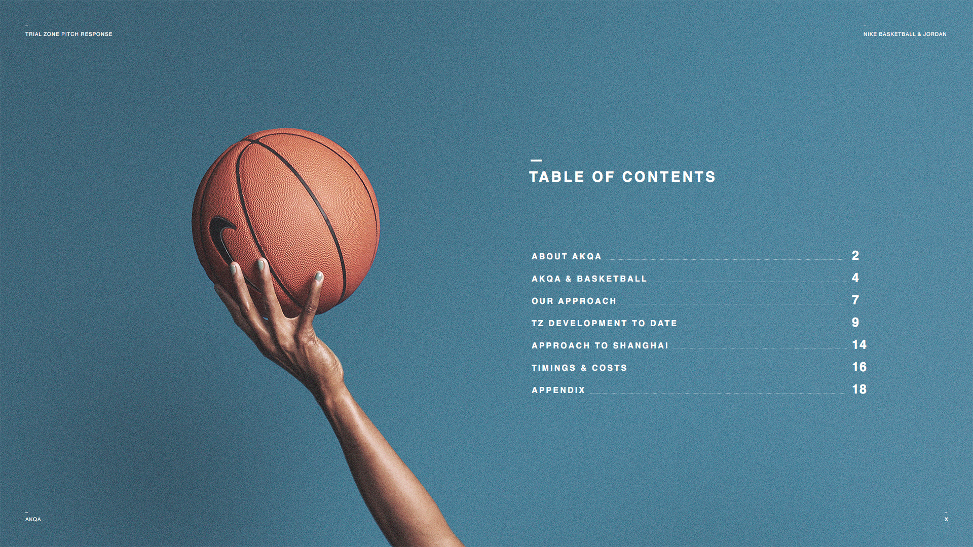 newest ae4ea 6b50e I worked with Nike Basketball and Jordan to create the art direction for  internal Trial Zone