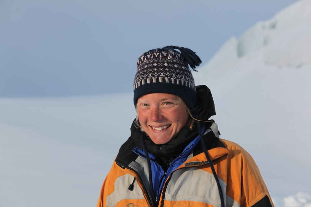 Rebecca Haspel in the Nun Kun massif.