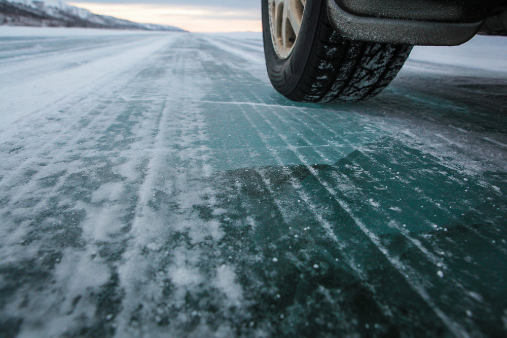 The ice road.