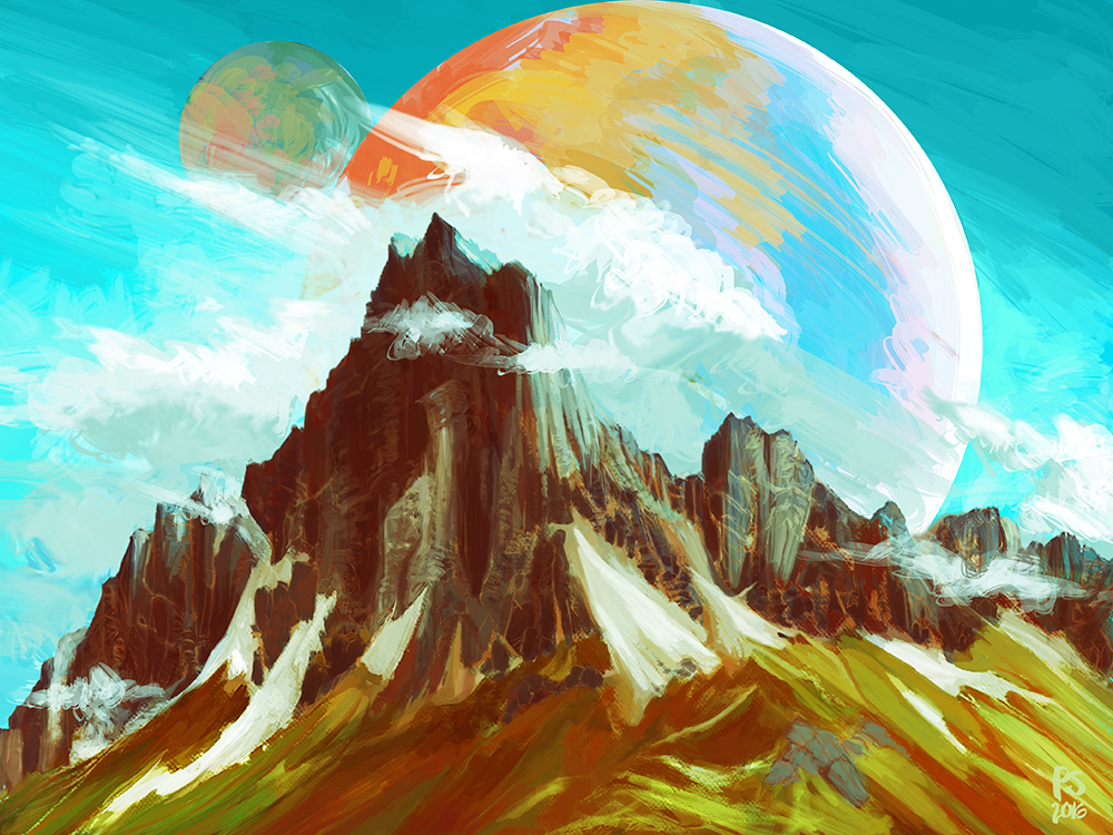 mountainscape
