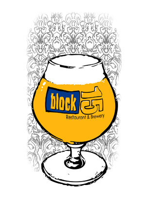 Coaster Art - Block 15 Brewing Co.