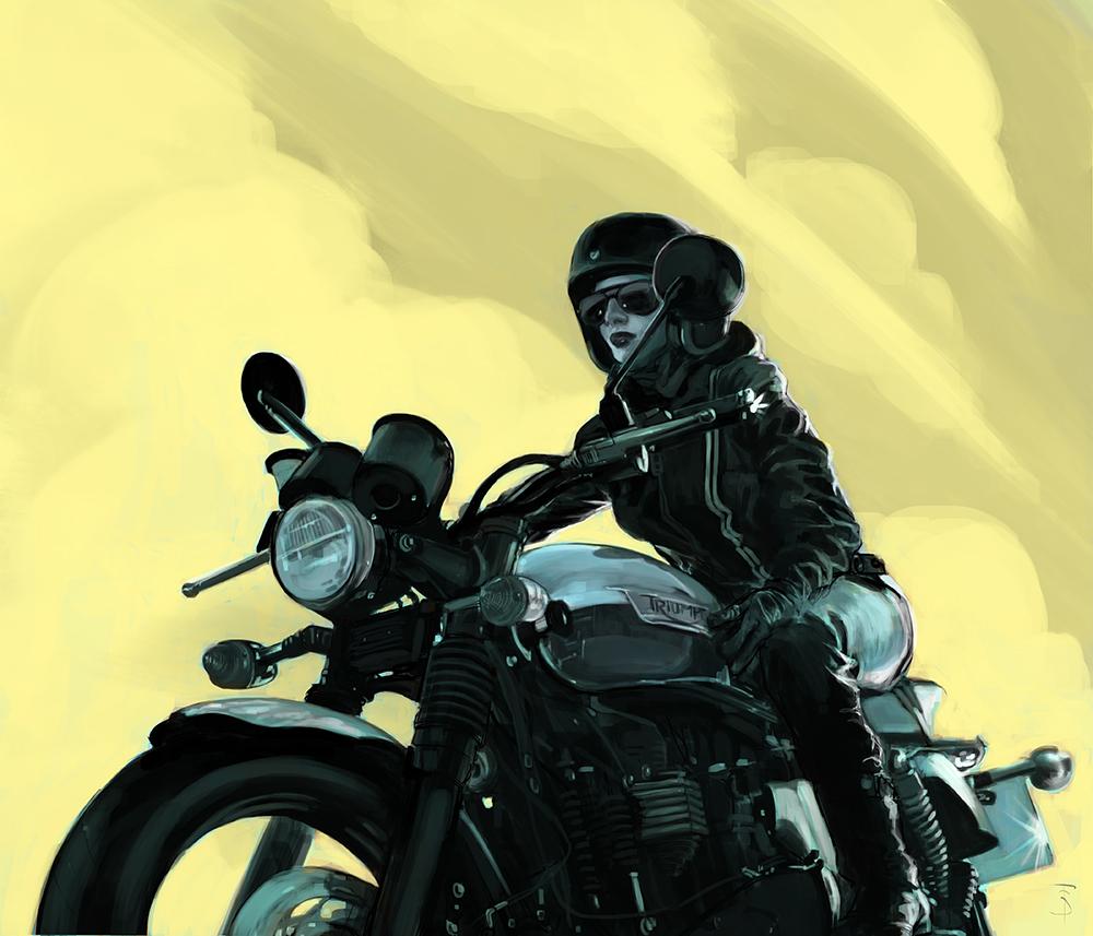 Triumph Moto.