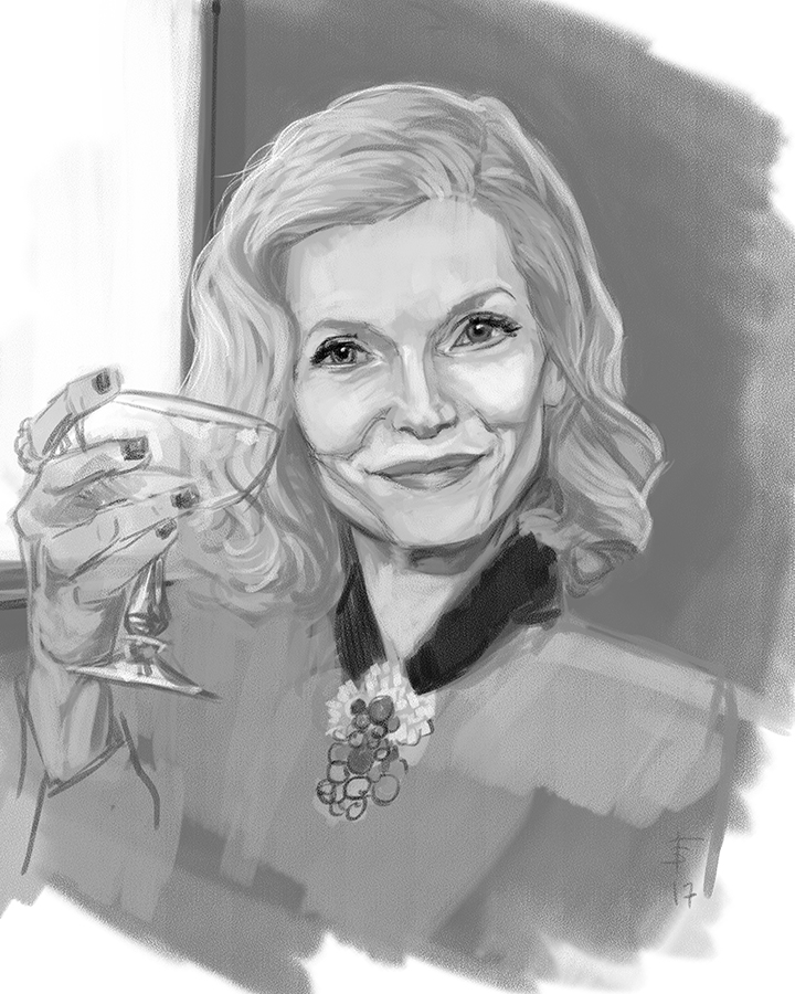 "Michelle Pfeiffer in ""Murder on the Orient Express"""