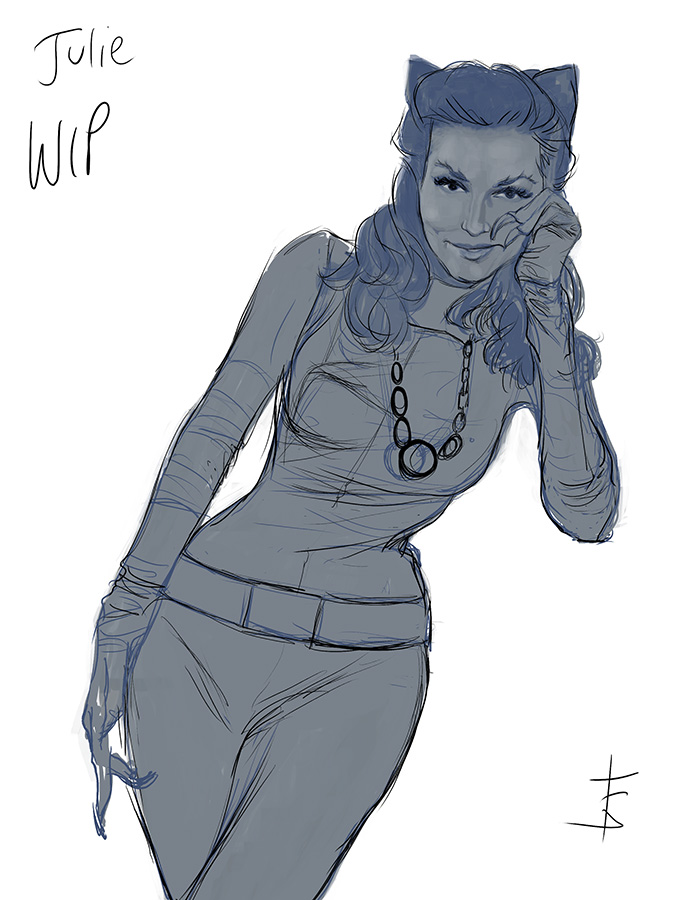 Haven't added this one, yet! Soooooon! Julie Newmar!