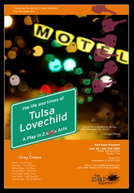 THE LIFE & TIMES OF TULSA LOVECHILD