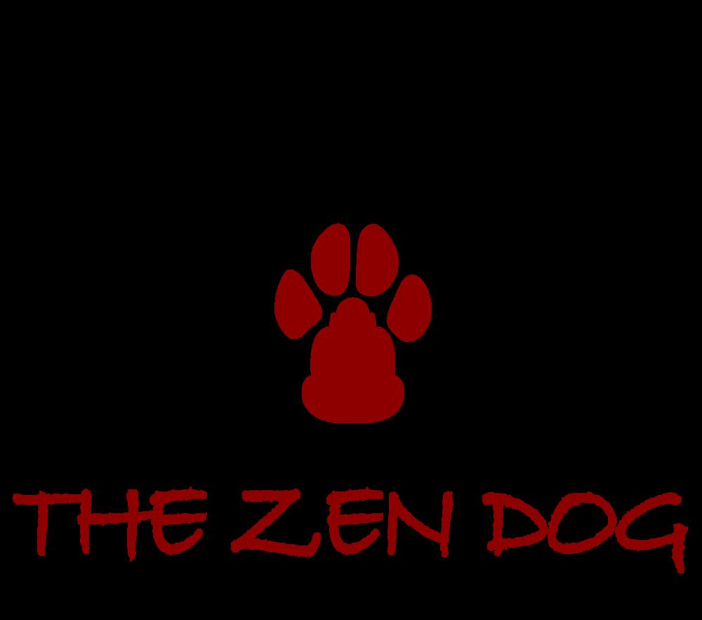 los angeles dog trainer the zen dog logo.png
