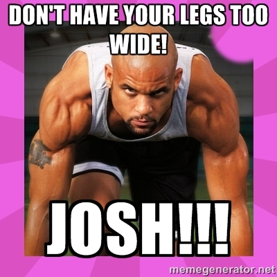 My favorite meme of all time. You'll get it if you do Insanity. I unironically love Shaun T.