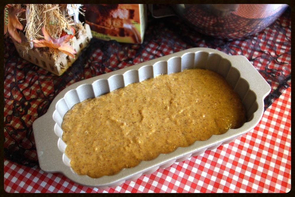 taking fountain los angeles trader joes vegan pumpkin bread loaf.jpg