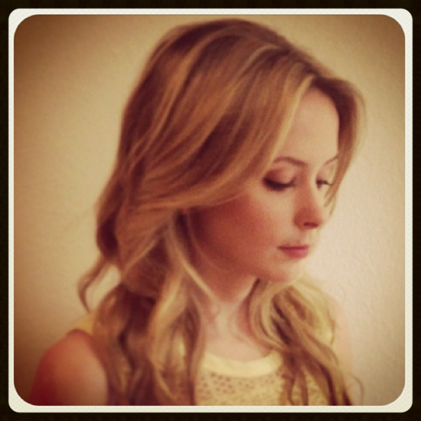 Long layers and natural highlights--my go-to look for years, courtesy of Crowned Studio Salon.