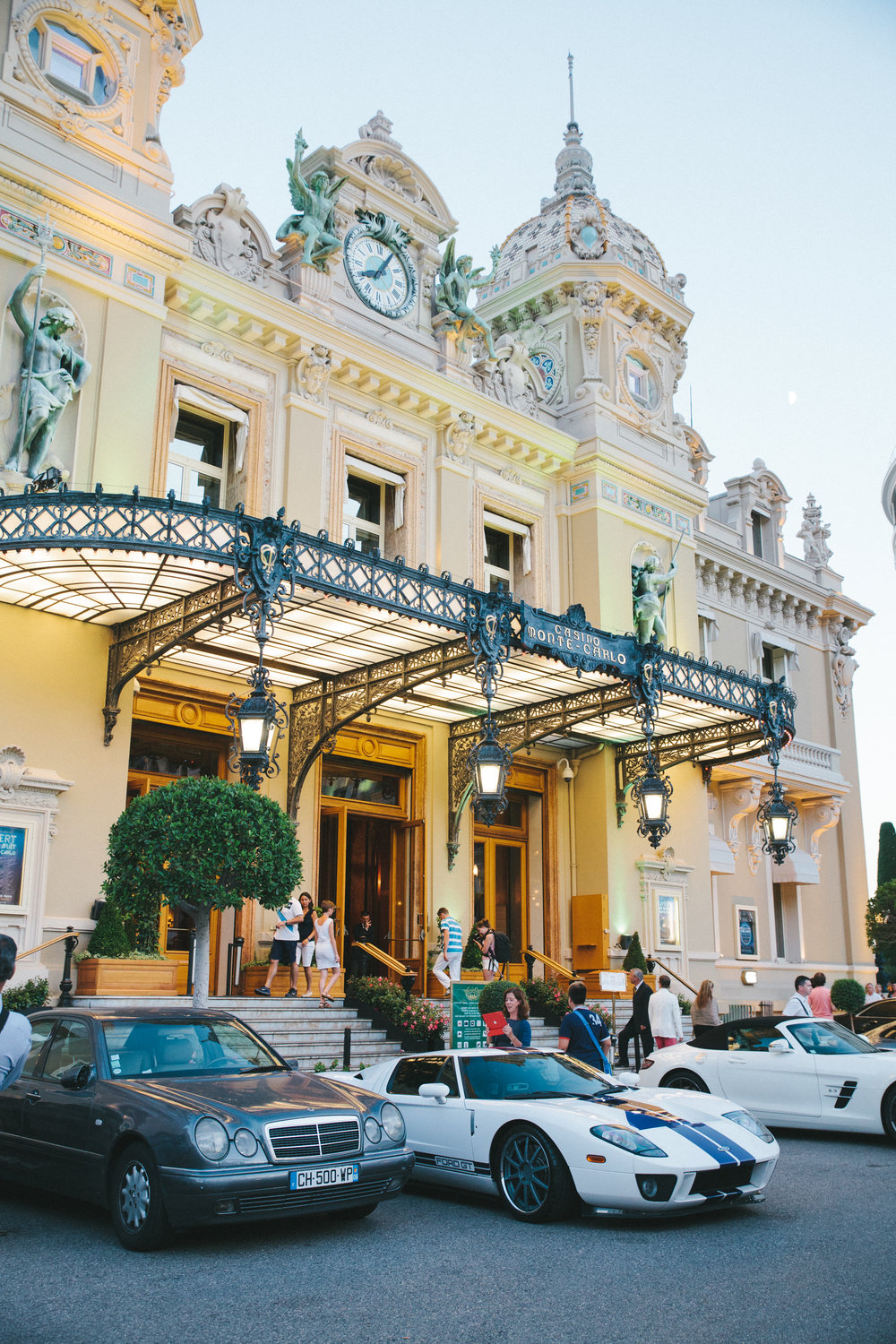 On our only day in Monaco, we were declined entrance to the world famous Monte-Carlo Casino because we were wearing shorts.  It was a total bummer.