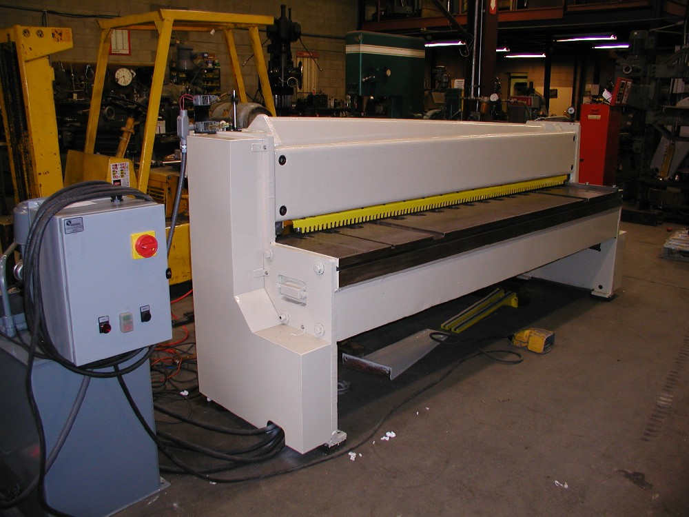 Shear 8 ft, Hydraulic Conversion