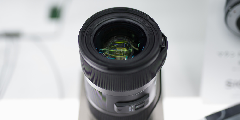 The Sigma 35mm 1.4 Art lens