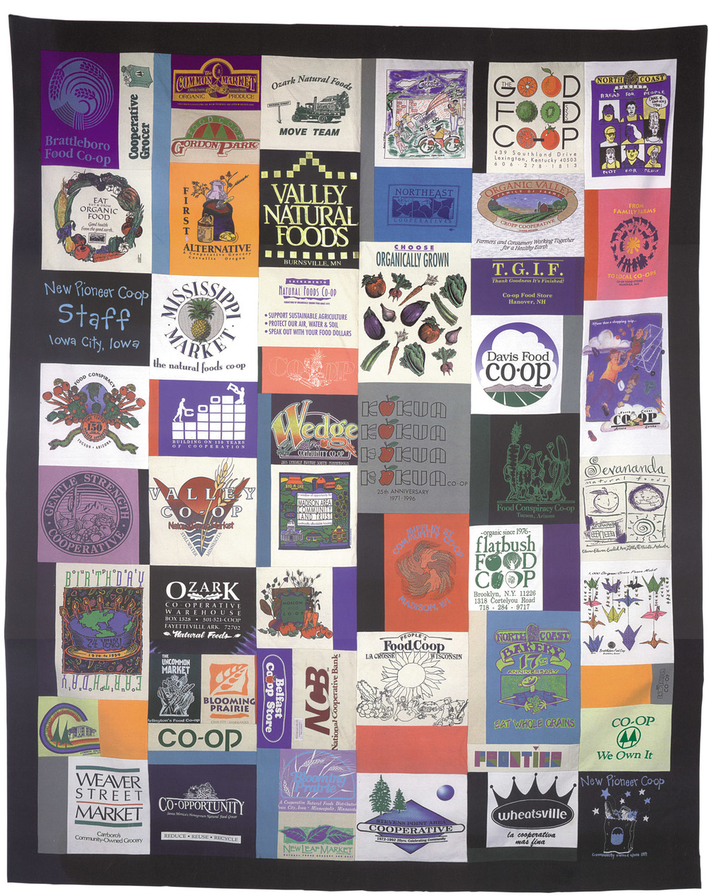 Howard Bowers Co-op Quilt