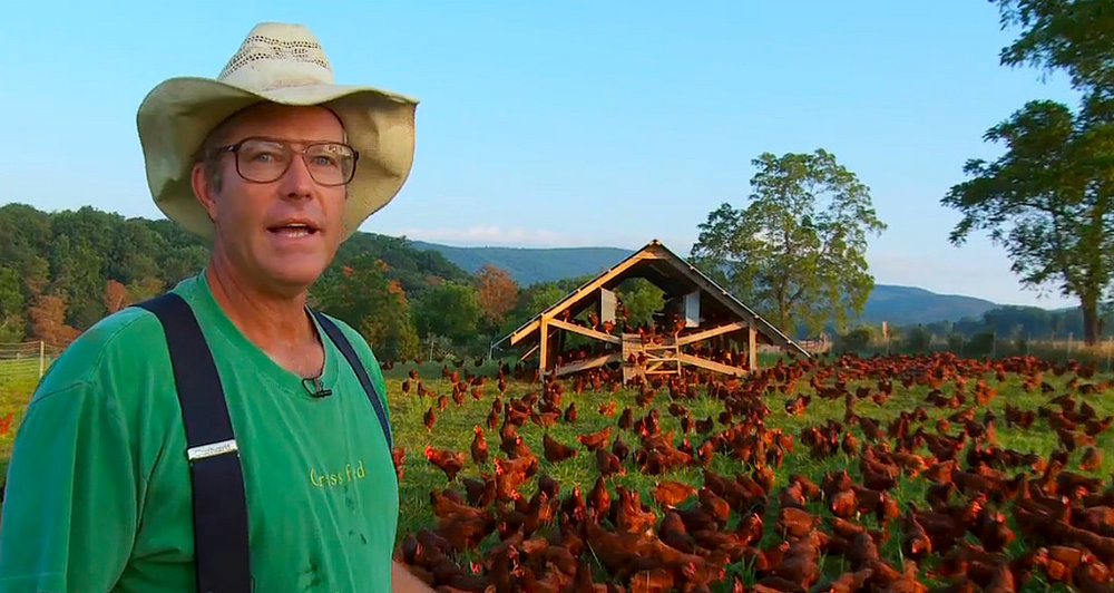 Can we feed the world?   An evening with Joel Salatin   Learn more
