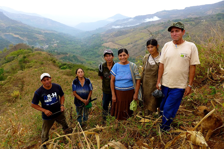 Members of the Norandino co-op, which consists of over 7,000 families in northern Peru.